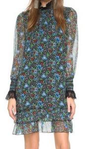 Anna Sui High Neck Dress