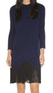 Timo Weiland Knit Fringe Dress