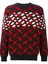 ALEXANDER WANG Intarsia Knit Sweater