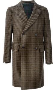 MASSIMO PIOMBO Tweed Coat